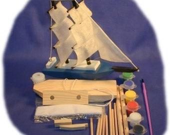 Tallship Wood Craft Kit
