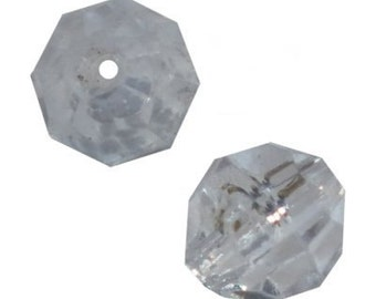 4mm Crystal Faceted Beads - 1,000 Beads