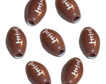 60 Football Beads
