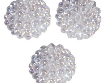 144 Crystal Round Berry Beads