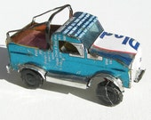 Pickup Truck Tin Recycled Artwork Perfect Replica Handmade in Africa - Pick Up