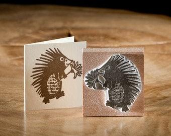 Hedgehog Friend Stamp