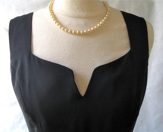 Vintage Anna Sui Black Dress 1980's Like this item