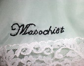 Masochist tap shorts