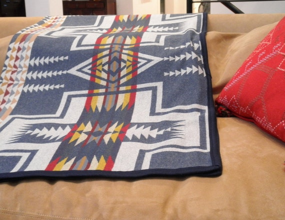 Pendleton Wool Blanket Native American Reversible By Urbancamp