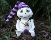 Skeleton Sculpture- Happy Ghoul Sandman Doll