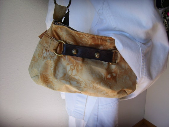 Leather Purse Upcycled Jackets and Braided Leather Strap Bag Again