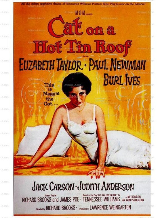 Title: Cat On A Hot Tin Roof Year: 19