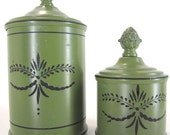Vintage Tin Containers