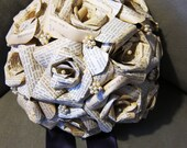 Personalized Bridal Bouquet 96 Pearls - Breathtaking