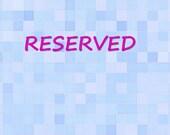 RESERVED for mommyayo - Custom Aqua Jersey High Waist Pants Cream  Choose Your Length