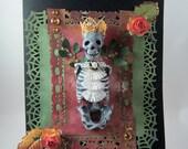 Royal Skull/Skeleton  Halloween Card