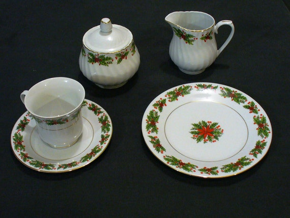 Limited time SALE Truly Tasteful Christmas China