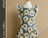 Anya Dress - PDF Pattern - Size 12 months to 8 years old and tutorial, PDF Downloadable, Easy Pattern