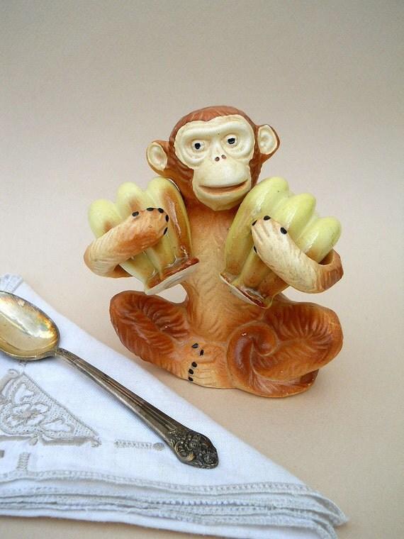 Vintage Monkey Salt and Pepper Shaker