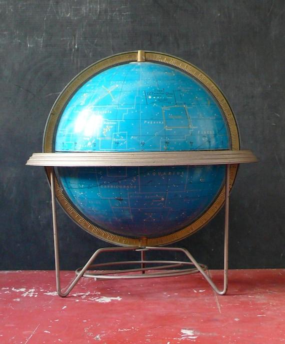 12 inch Cram's Celestial Globe. 1960s.