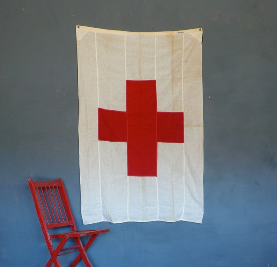WW2 era Red Cross Flag