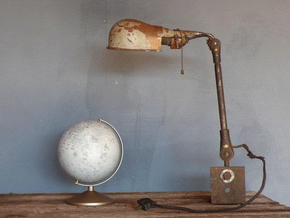 Vintage Industrial Shop Light.