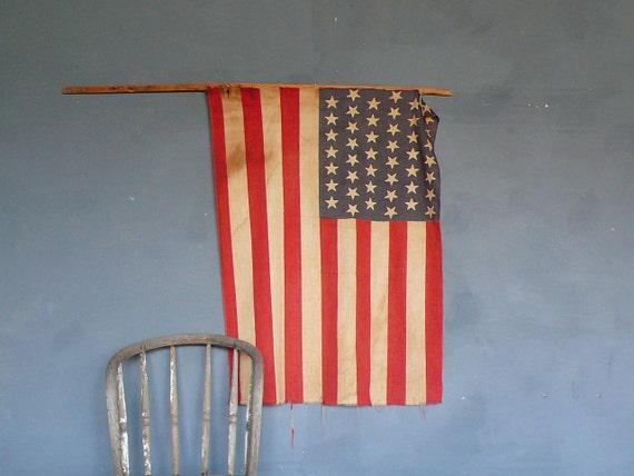 Primitive 45 Star Flag