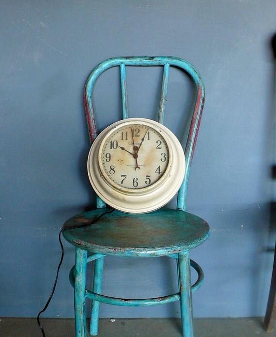1920s industrial wall clock