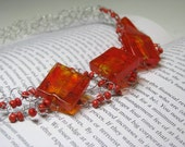 "Wire Crocheted Necklace ""Luscious"" by Lauri"