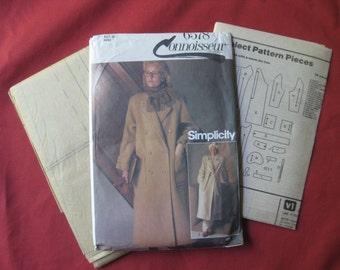 Connoisseur Simplicity 6578 Coat Pattern, Size 12, Uncut
