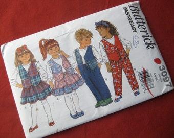 Butterick, 3097 Very Easy, Vest Top, Skirt, Pants sizes 5-6X, Uncut
