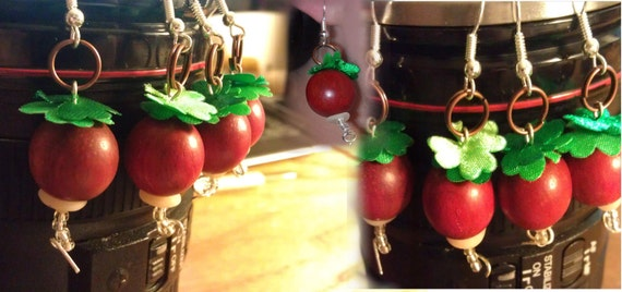 Radish Earrings