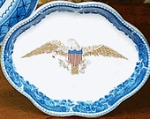 Mottahedeh Eagle Pin Tray, Dish, Plate