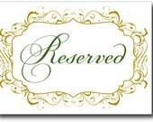 Reserved listing for Karyl