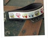 "The ""Hootie Owls"" wristlet key fob"