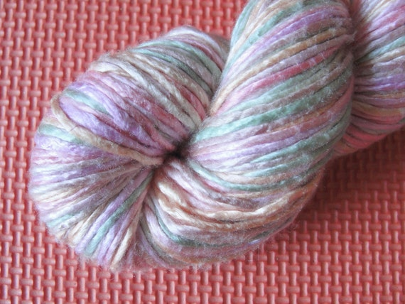 Worsted Weight Silk Yarn Pastels