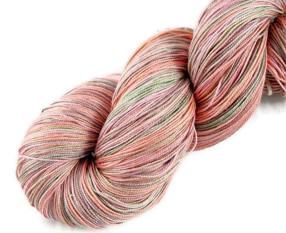 Silk Lace Yarn Silk Yarn Spun/ Maharaja Silk yarn Copper Green
