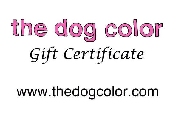 Custom Pet Portrait Oil Painting 10x8 Gift Certificate