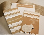 PRINTABLE Invitation and Party Accessories - Little Lamb