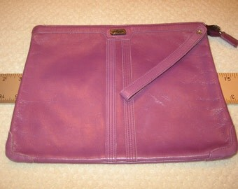 orchid leather Phillippe clutch