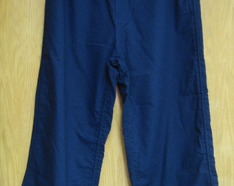 vintage navy  'Mossimo' cabin boy pants . . . .mens size 34 . . . .  excellent like new condition