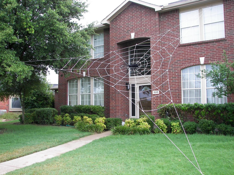 30 ft BERMUDA Spider Web GIANT Halloween House Prop
