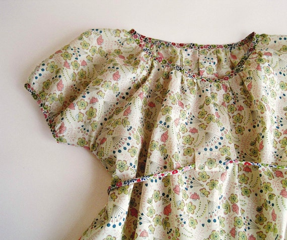 TODDLER DRESS in fine genuine Liberty of London