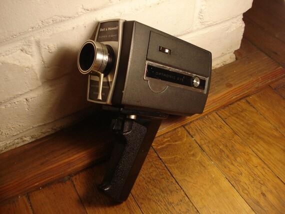 vintage bell howell super 8 autoload camera model 430. Black Bedroom Furniture Sets. Home Design Ideas