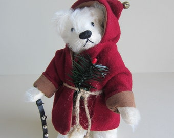 """Mohair Artist Bear 8 Inch Jointed . """"Bearsnickle"""""""