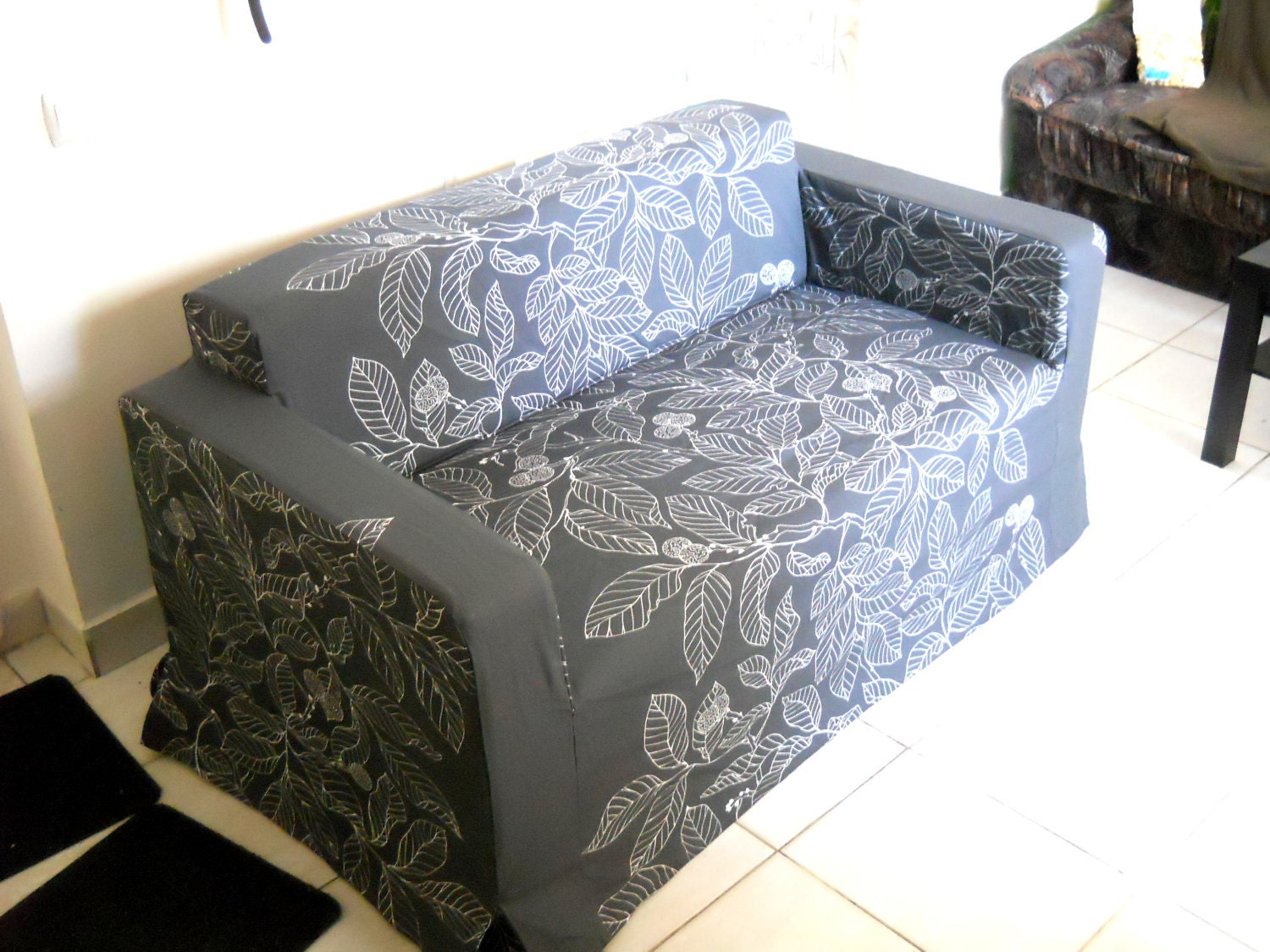 Custom Made Cover For Klobo Sofa From Ikea Nice Leaf
