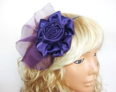 Latest fashion amethyst purple roses adult crown, fascinating...