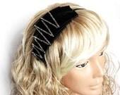 Latest Fashion Black Crown. Plus size. Personalized wedding hair design.
