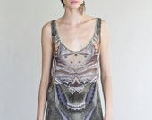 Jamie Printed Chiffon Tunic, this is an amazing piece of Art, fits anyone, and will always get YOUR attention:)