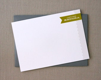 Personal Stationery : CARROLL COOL
