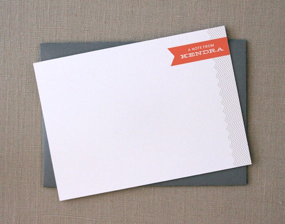 Personal Stationery : CARROLL WARM