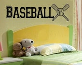 varsity Baseball decal wall decal WD kids kids decor nursery decal sport decal boy decal home decor decal men decal living room decal girls