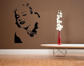 vinyl wall decal Marilyn Monroe