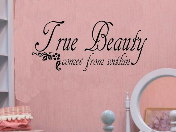 True Beauty From Within Quotes True Beauty Comes From The Light Within